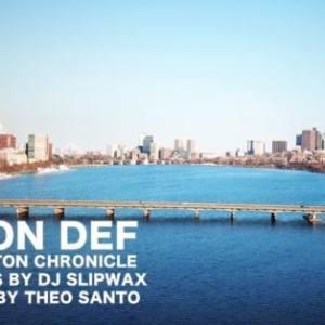 """Ода родному Бостону: Don Def """"Boston Chronicle"""""""