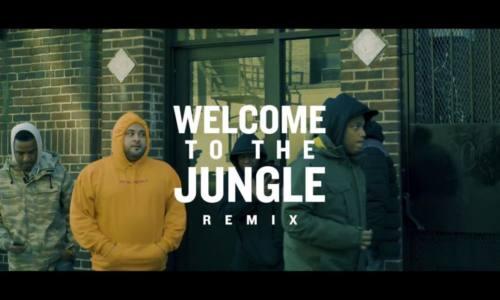 Tony Moxberg – «Welcome to the Jungle» (Remix) (Feat. Smoke DZA, Snyp Life & Styles P)