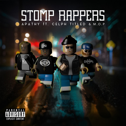 Apathy — «STOMP RAPPERS» (feat. Celph Titled & M.O.P.)