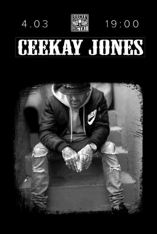 Ceekay Jones в Киеве