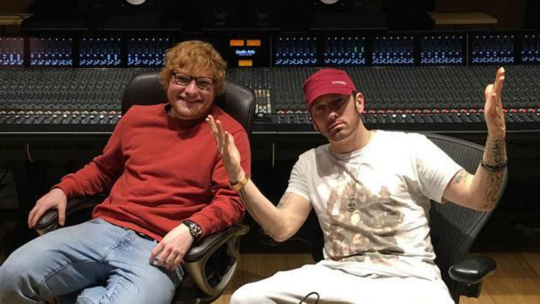 Eminem – «River» (feat. Ed Sheeran)