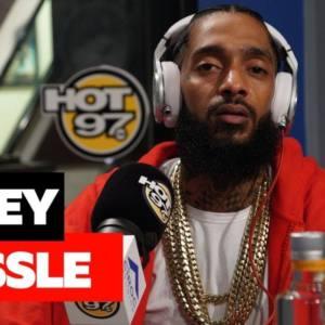 Фристайл Nipsey Hussle на радио Hot 97