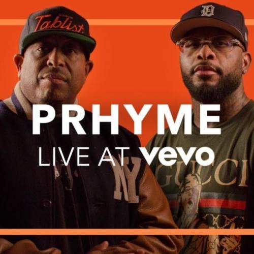 PRhyme выступили на канале Vevo с тремя песнями