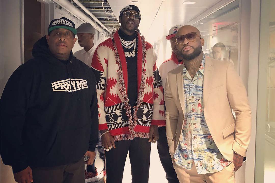 PRhyme и 2 Chainz выступили на шоу Джимми Фэллона