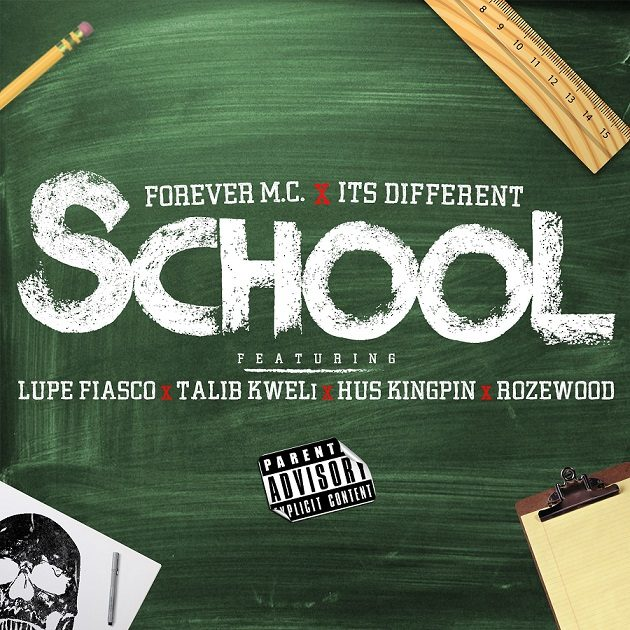 "Lupe Fiasco, Talib Kweli, Hus Kingpin и Rozewood приняли участие в треке Forever M.C. ""School"""