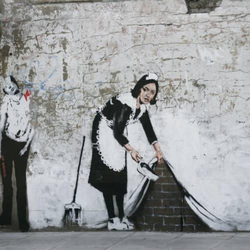 Летом в Москве пройдет выставка работ Banksy