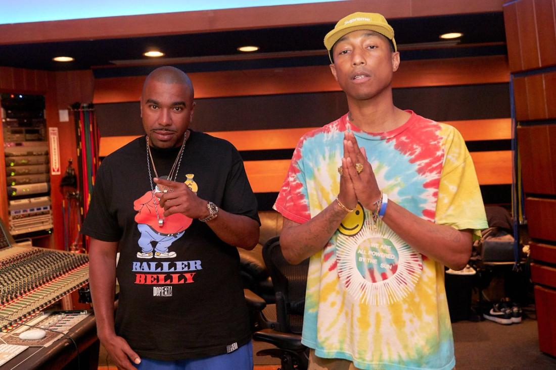 N.O.R.E. – «Uno Más» (feat. Pharrell Williams)