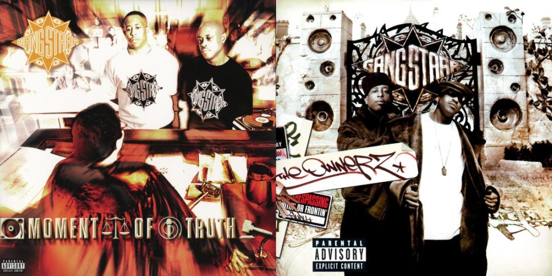 Gangstarr - The Ownerz (2003) и Moment of Truth (1998)
