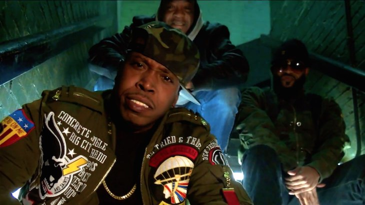 Lil Fame (M.O.P.) – «Say Nothin»