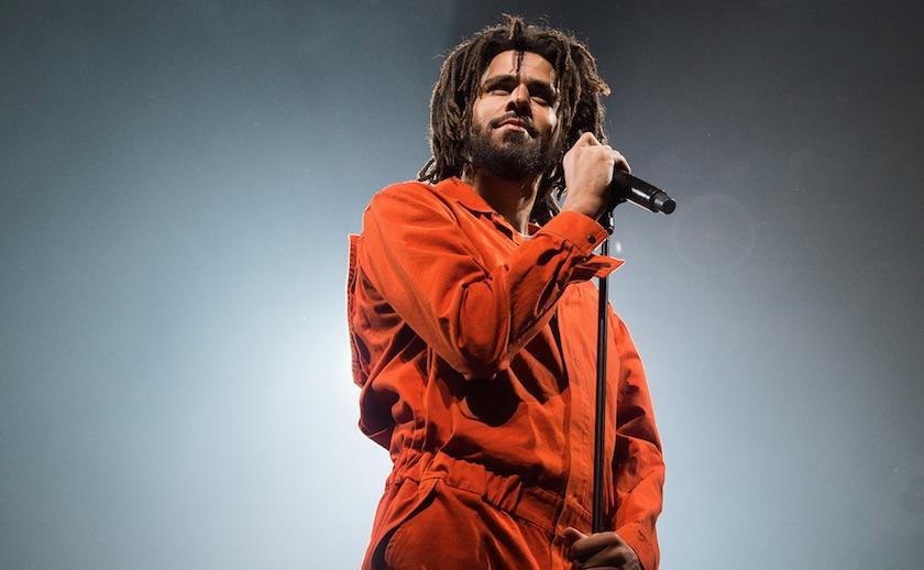 J. Cole показал обложку и треклист своего нового альбома «KOD»