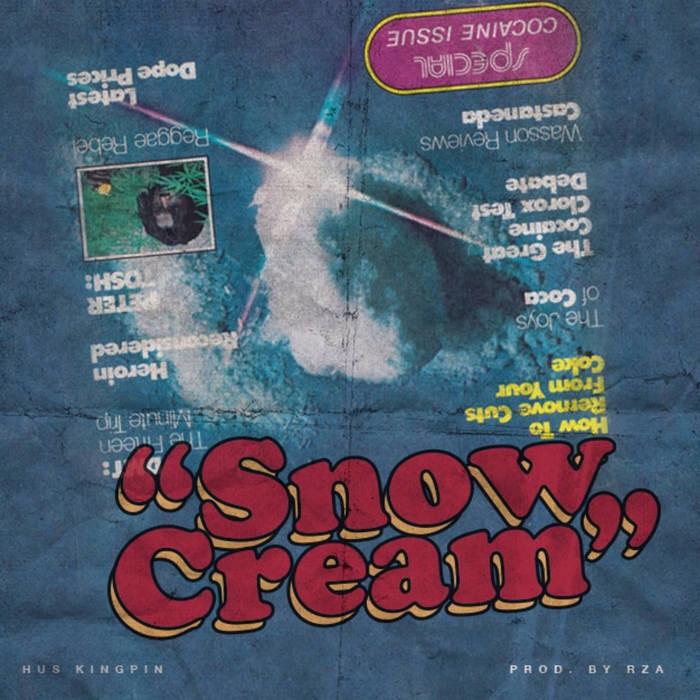 Трек Hus Kingpin «Snow Cream», это дань уважения к Wu-Tang