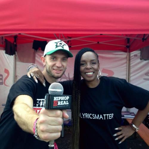 Интервью с Rah Digga на фестивале Hip Hop Kemp