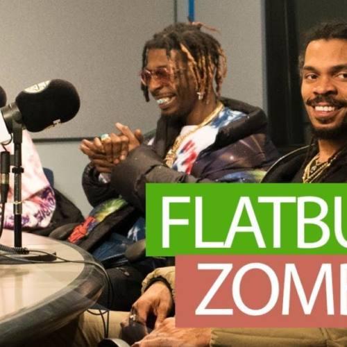 Фристайл Flatbush ZOMBiES на радио Hot97