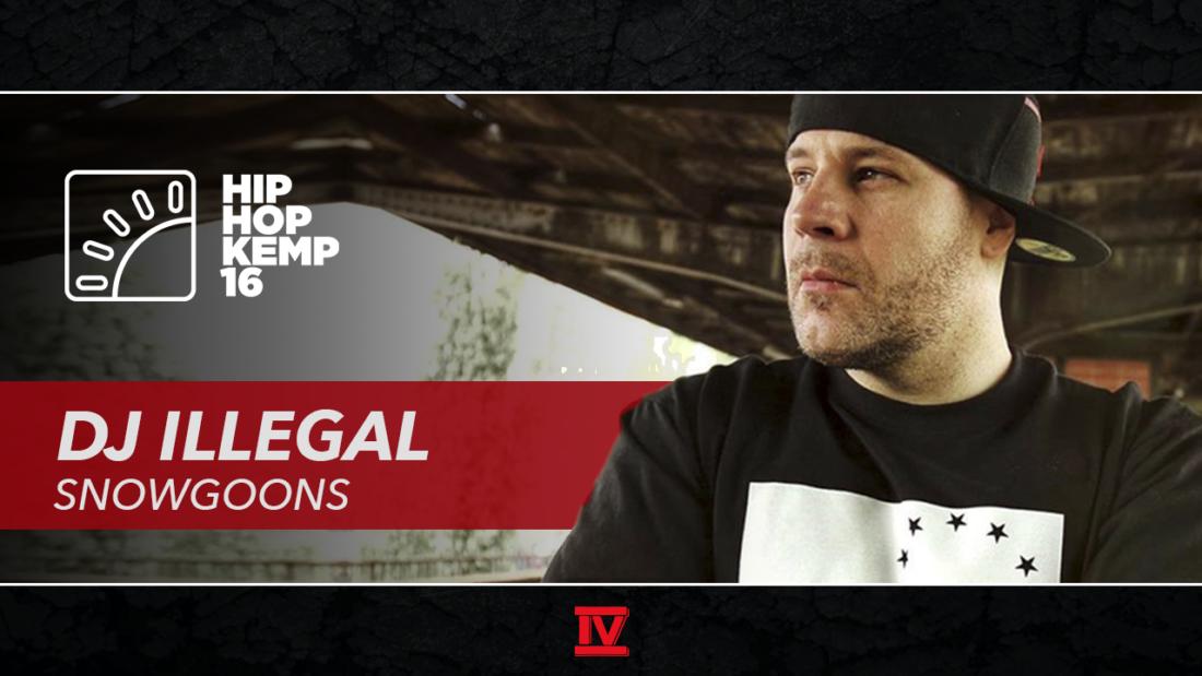 Интервью с DJ Illegal (Snowgoons) на фестивале Hip Hop Kemp