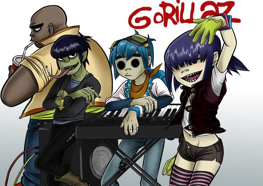 В июне выйдет новый альбом Gorillaz