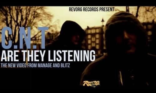 Бум-бэп из Англии: CNT (Code Name Theory) «Are They Listening?»