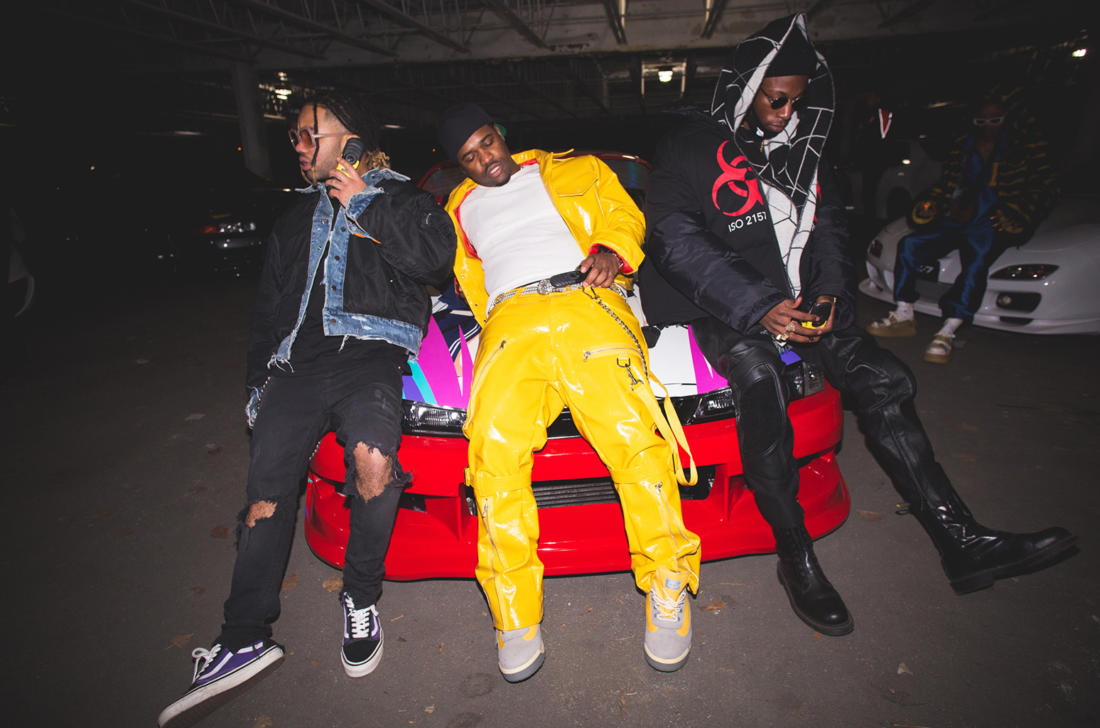 Powers Pleasant – «Pull Up» (feat. Joey Bada$$ & A$AP Ferg)