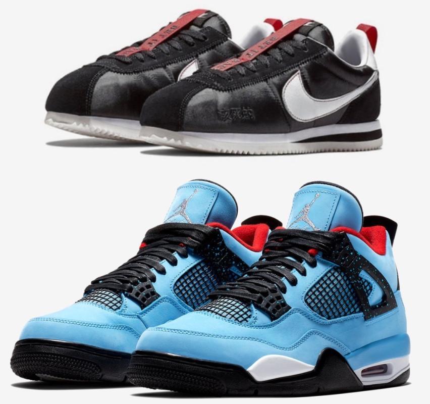 Kendrick Lamar и Travis Scott выпустят коллабо кроссовок c Nike Cortez и Air Jordan