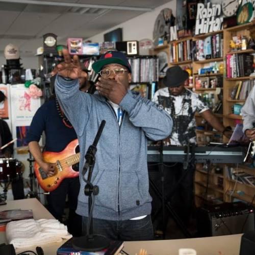 O.C. выступил на канале NPR Music в рамках проекта Tiny Desk Concert