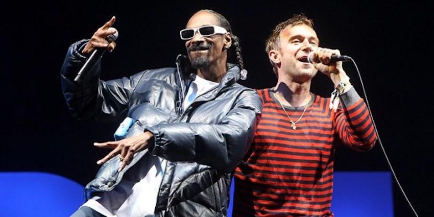Gorillaz — «Hollywood» (feat. Snoop Dogg & Jamie Principle)