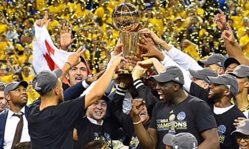 Golden State Warriors стали чемпионами NBA