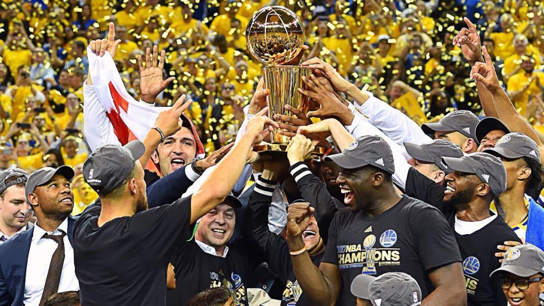 Golden State Warriors стали чемпионами NBA