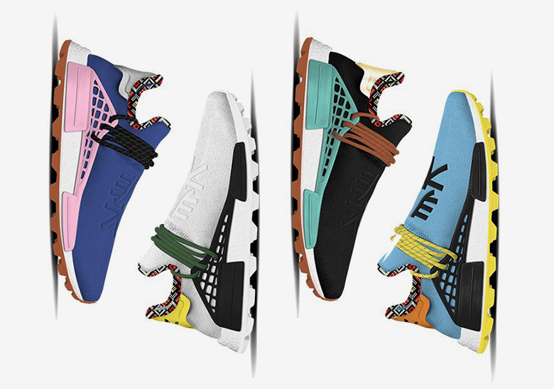 """Pharrell и adidas выпустят яркие кроссовки NMD """"Inspiration"""""""