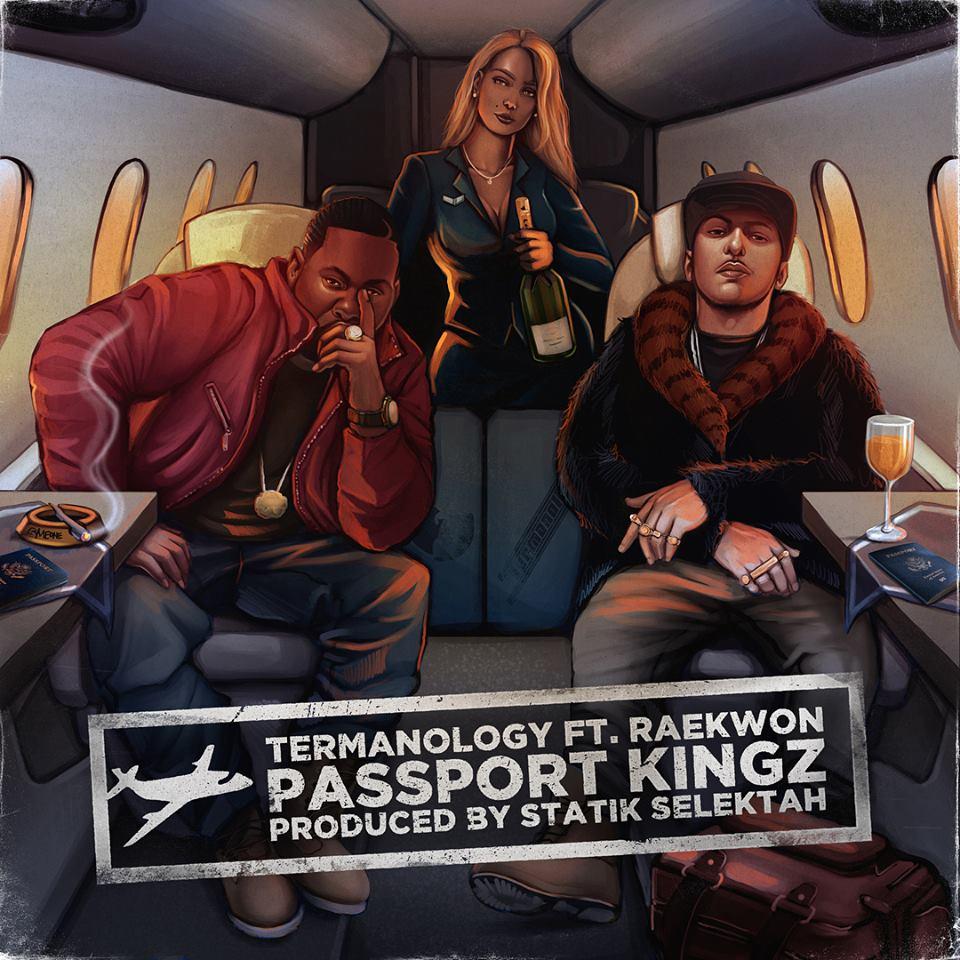 Termanology feat. Raekwon «Passport Kingz» (Prod. by Statik Selektah)