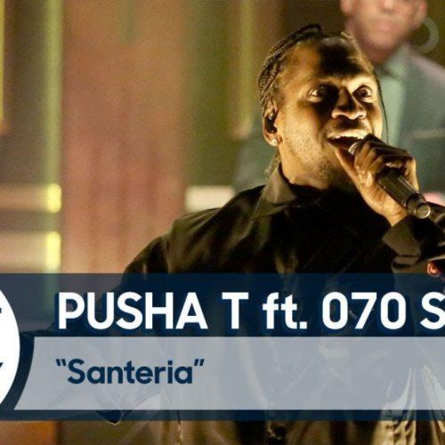 Pusha T и 070 Shake выступили на шоу Джимми Фэллона