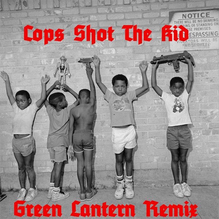 Nas & Kanye West — «Cops Shot the Kid» (DJ Green Lantern Remix)