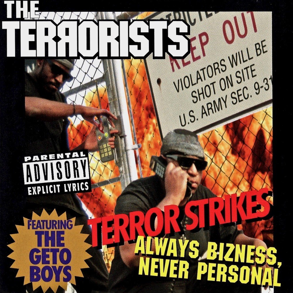 18. The Terrorists feat. Point Blank