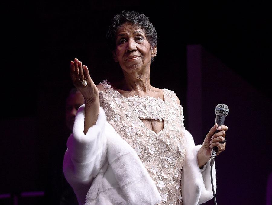 Ушла из жизни Aretha Franklin