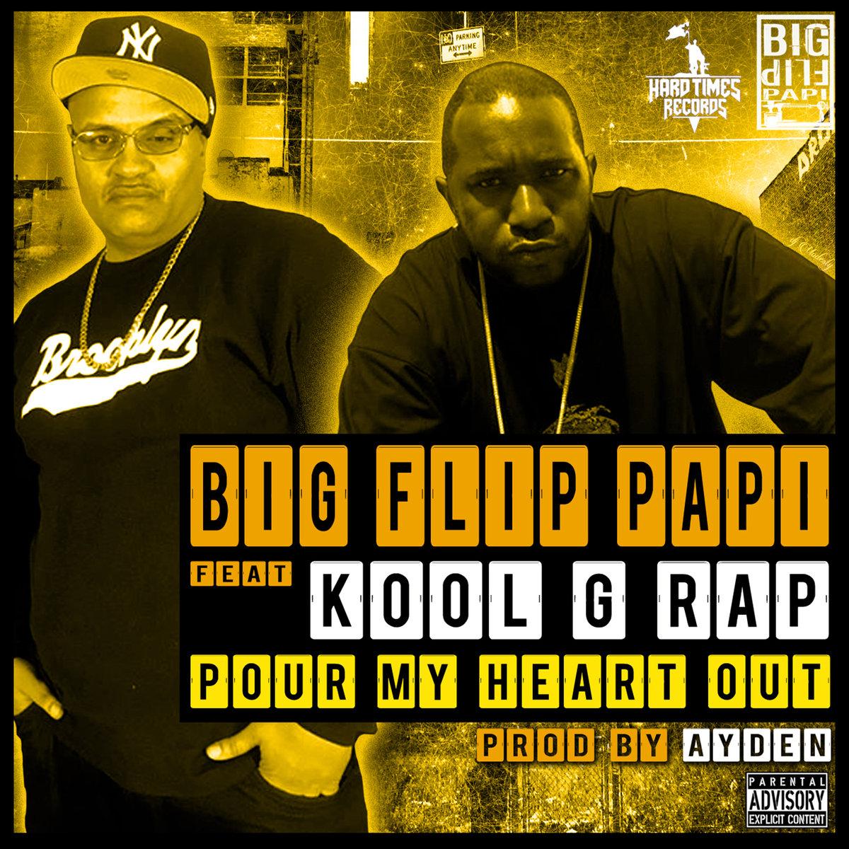 Kool G Rap поучаствовал в треке Big Flip Papi «Pour My Heart Out»