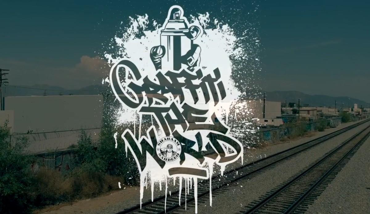 Любителям граффити и бум-бэпа: Shabaam Sahdeeq «Graffiti The World» feat. El Da Sensei