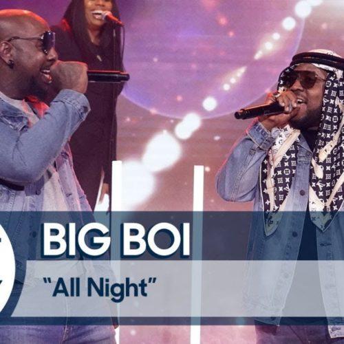 Big Boi и Sleepy Brown выступили на шоу Джимми Фэллона