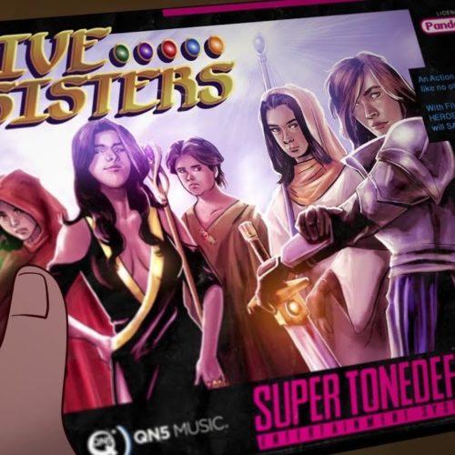 Это анимационное видео делали три года: Tonedeff «Five Sisters»