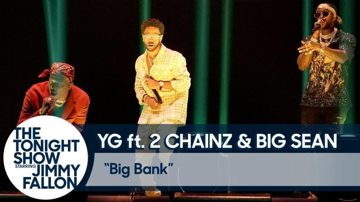 YG, 2 Chainz и Big Sean выступили на шоу Джимми Фэллона