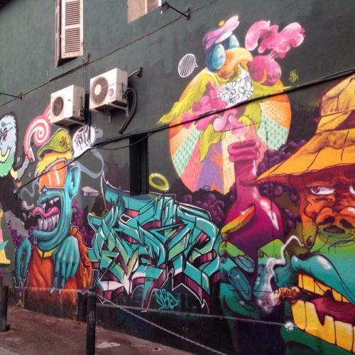 Граффити в Марселе, глазами HipHop4Real