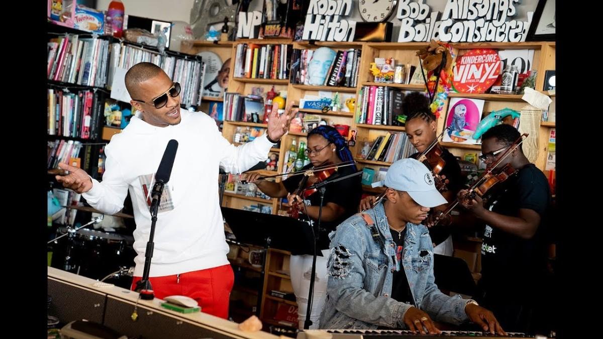 T.I. выступил на канале NPR Music в рамках проекта Tiny Desk Concert