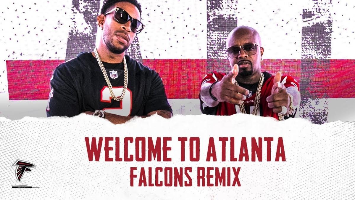 Ludacris & Jermaine Dupri — «Welcome to Atlanta» (Falcons Remix)
