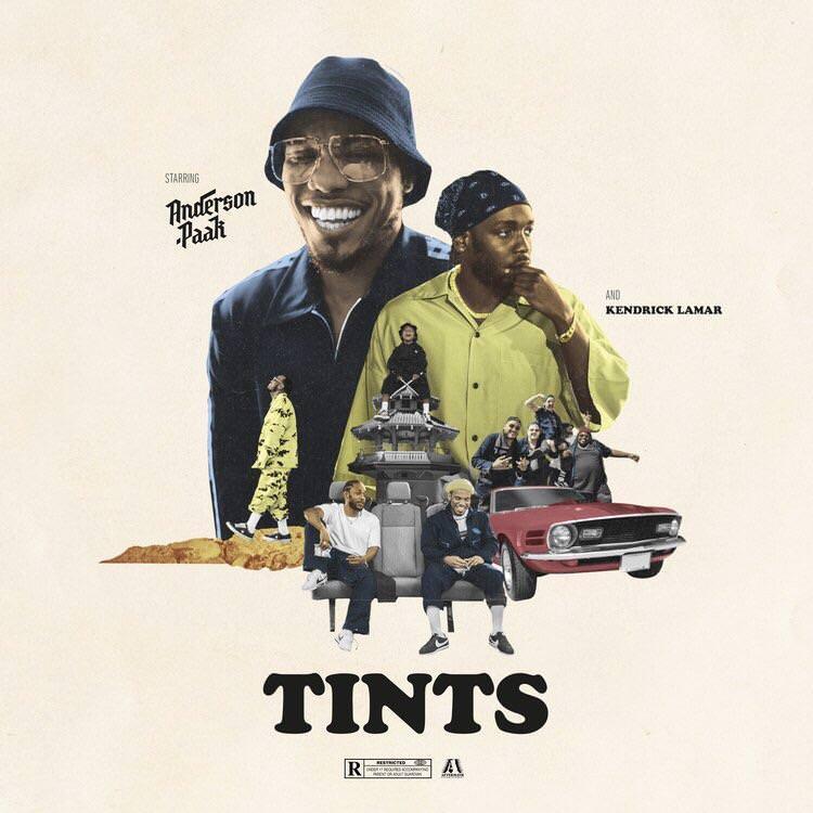 Anderson .Paak — «Tints» (Feat. Kendrick Lamar)