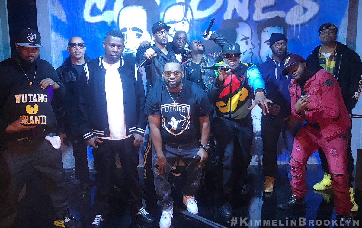 Wu-Tang Clan выступили на шоу Джимми Киммела