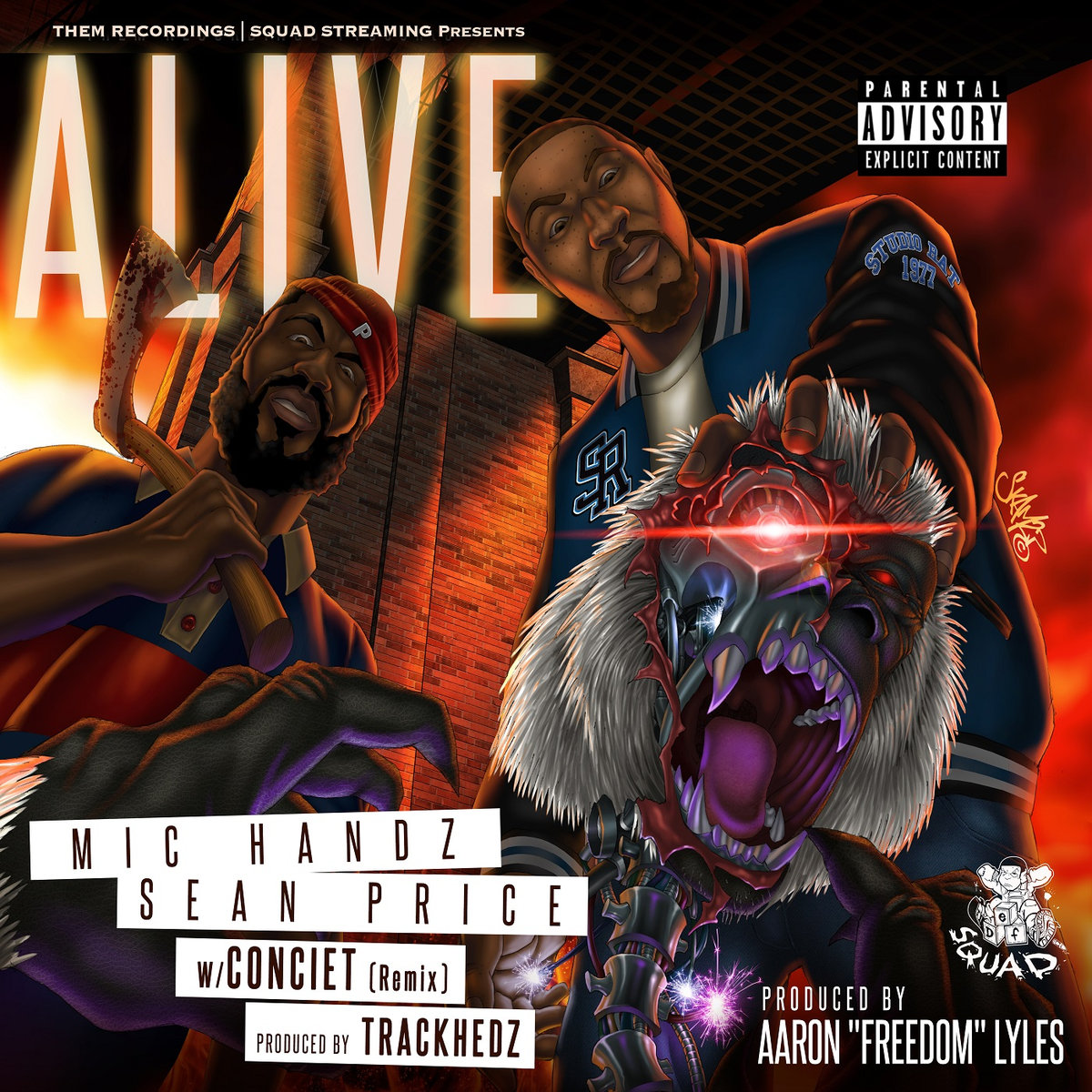 Mic Handz & Sean Price — «Alive EP «