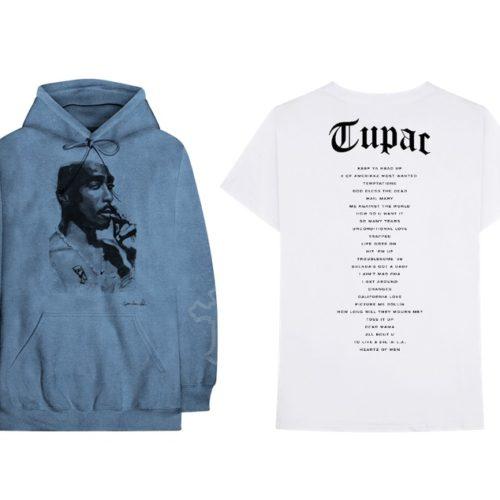 Вышла официальная коллекция одежды 2Pac + винил