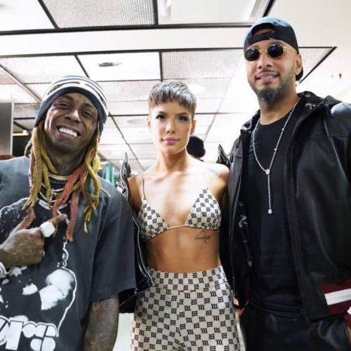 Lil Wayne выступил на шоу Saturday Night Live при поддержке Swizz Beatz и певицы Halsey