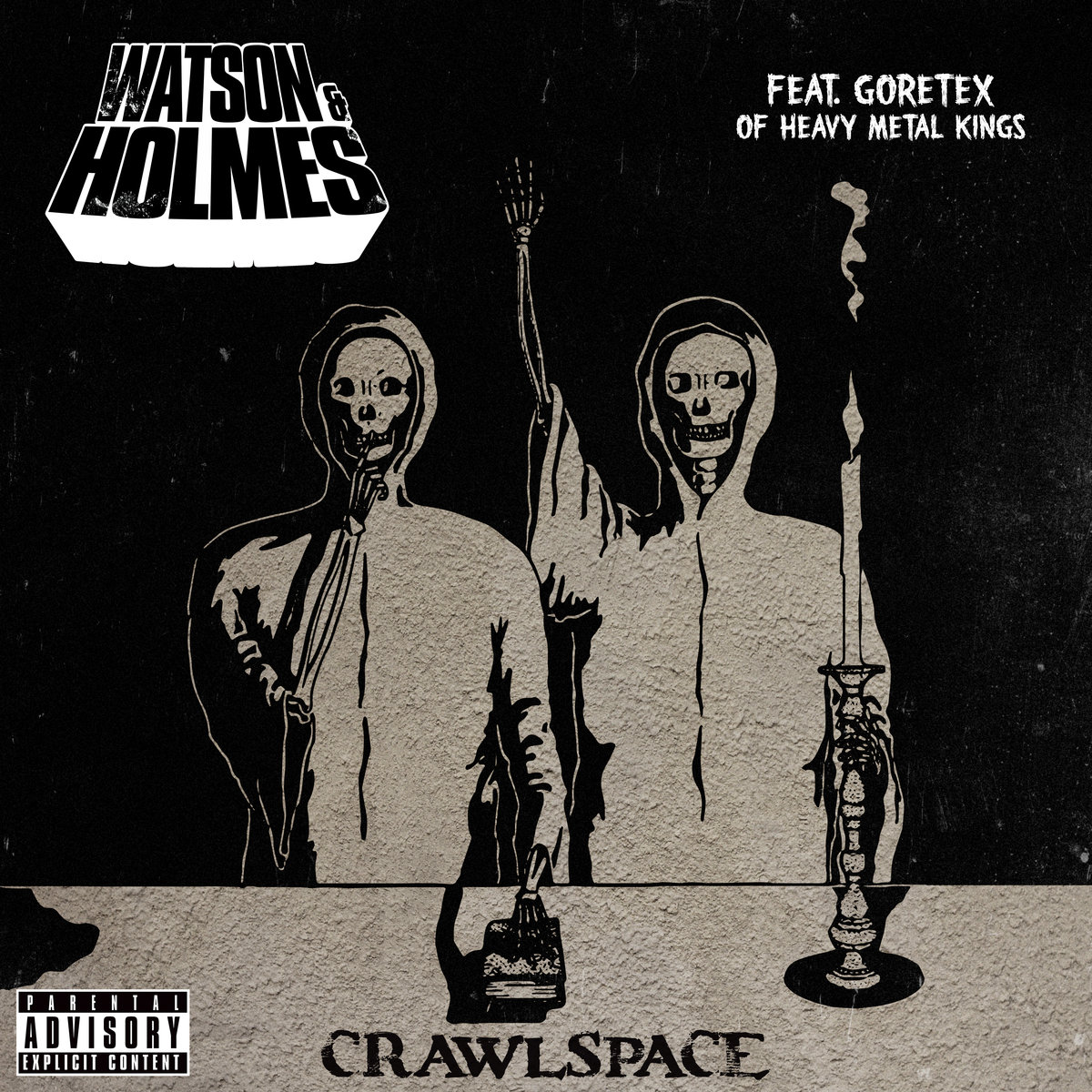 "Stu Bangas & Blacastan выпустил сингл ""Crawl Space"" при участии Goretex (Heavy Metal Kings/Non Phixion)"