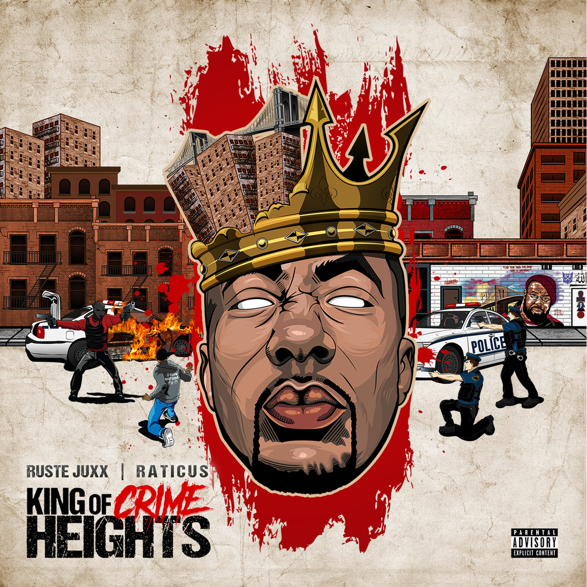Ruste Juxx & Raticus — «King of Crime Heights»