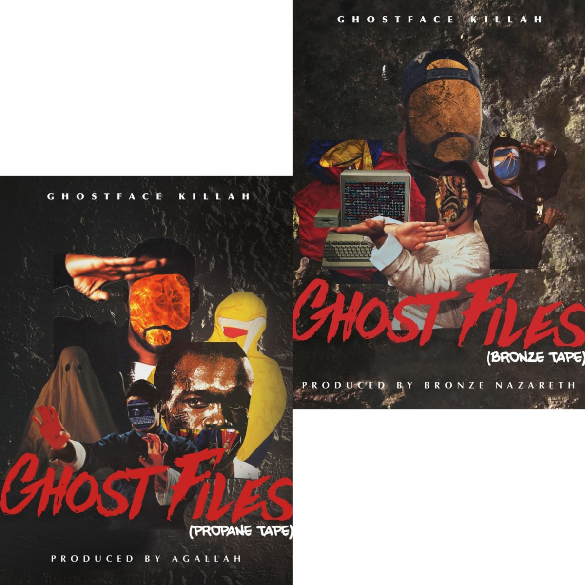 Ghostface Killah — «Ghost Files: Propane Tape / Bronze Tape»