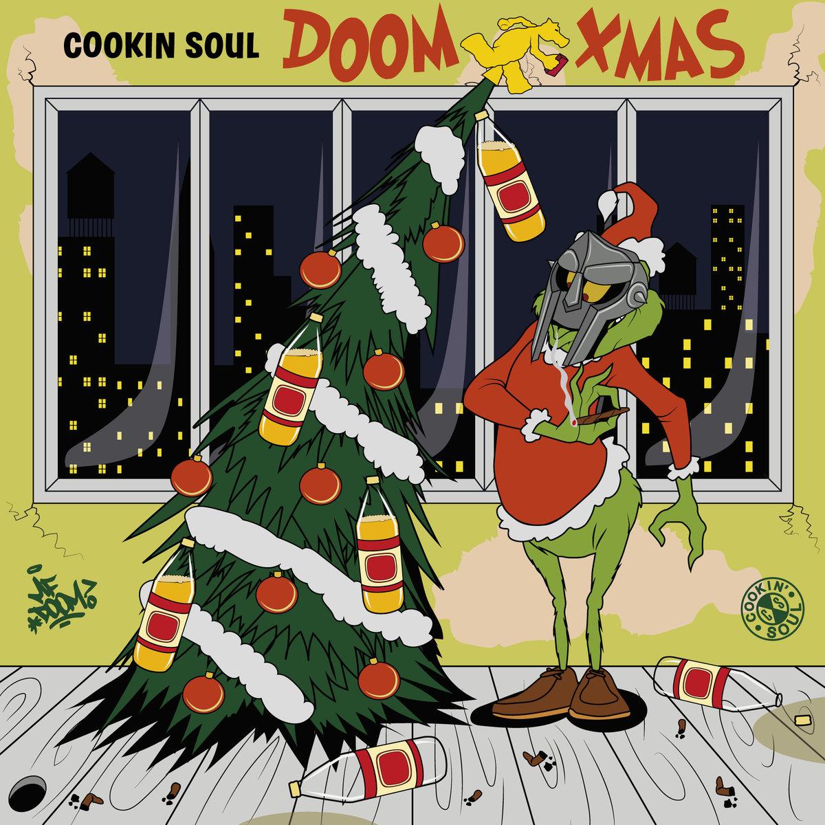 Cookin Soul — «DOOM XMAS (MF DOOM remixes)»