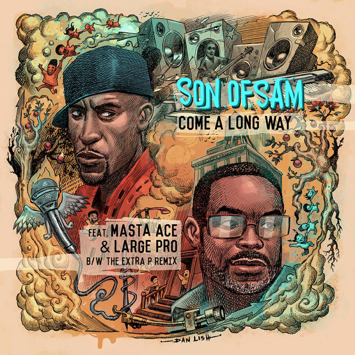 Вышел винил Masta Ace & Large Pro «Come A Long Way» с живым бэндом Son Of Sam
